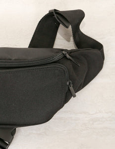 FYDELITY- Bum Bag: GAME DAY Black & Black