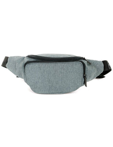 FYDELITY- Bum Bag: GAME DAY Grey & Black