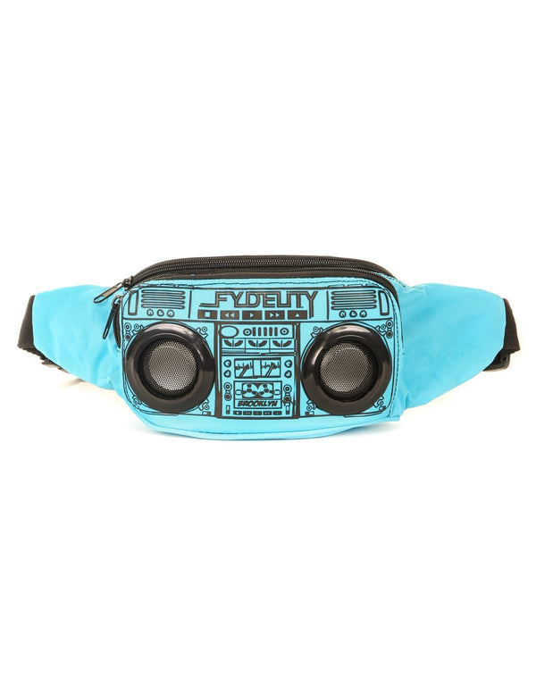 FYDELITY- FI-HI Bluetooth Speaker Bum Bag - LT Blue - Fydelity