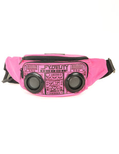 FYDELITY- FI-HI Bluetooth Speaker Bum Bag - Pink