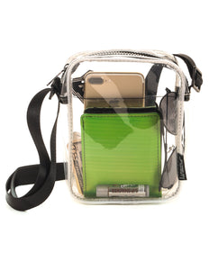 FYDELITY- Sidekick Brick Bag-  CRYSTAL Clear