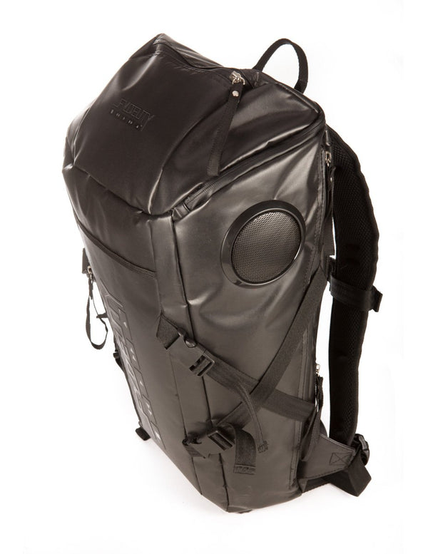 FYDELITY- Top Rock Stereo Backpack- BLACK
