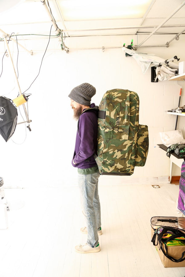 FYDELITY- Big A$$ Backpacks- Camo - Fydelity