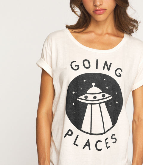 going places loose tee