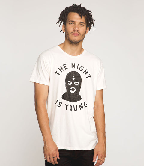 the night is young tee