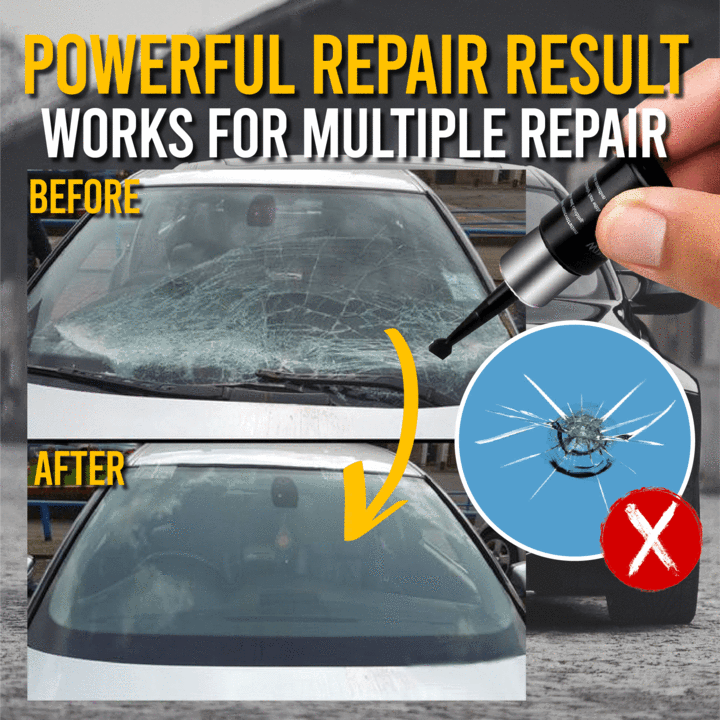 Automotive Glass Nano Repair Kit