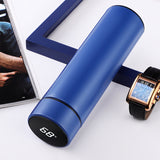 Stainless Steel Thermal Bottle With LCD Touch Screen Temperature Display