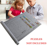Puzzles Mat Jigsaw Roll Felt Mat Play Mat Large For Up To 1500 Pieces Puzzle Accessories Portable Travel Crawling Mat Baby Toys