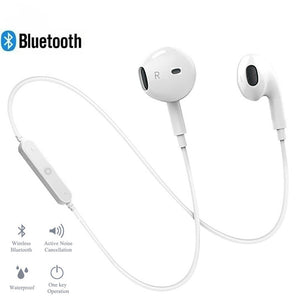 Wireless Bluetooth Earphones with Noise Cancellation
