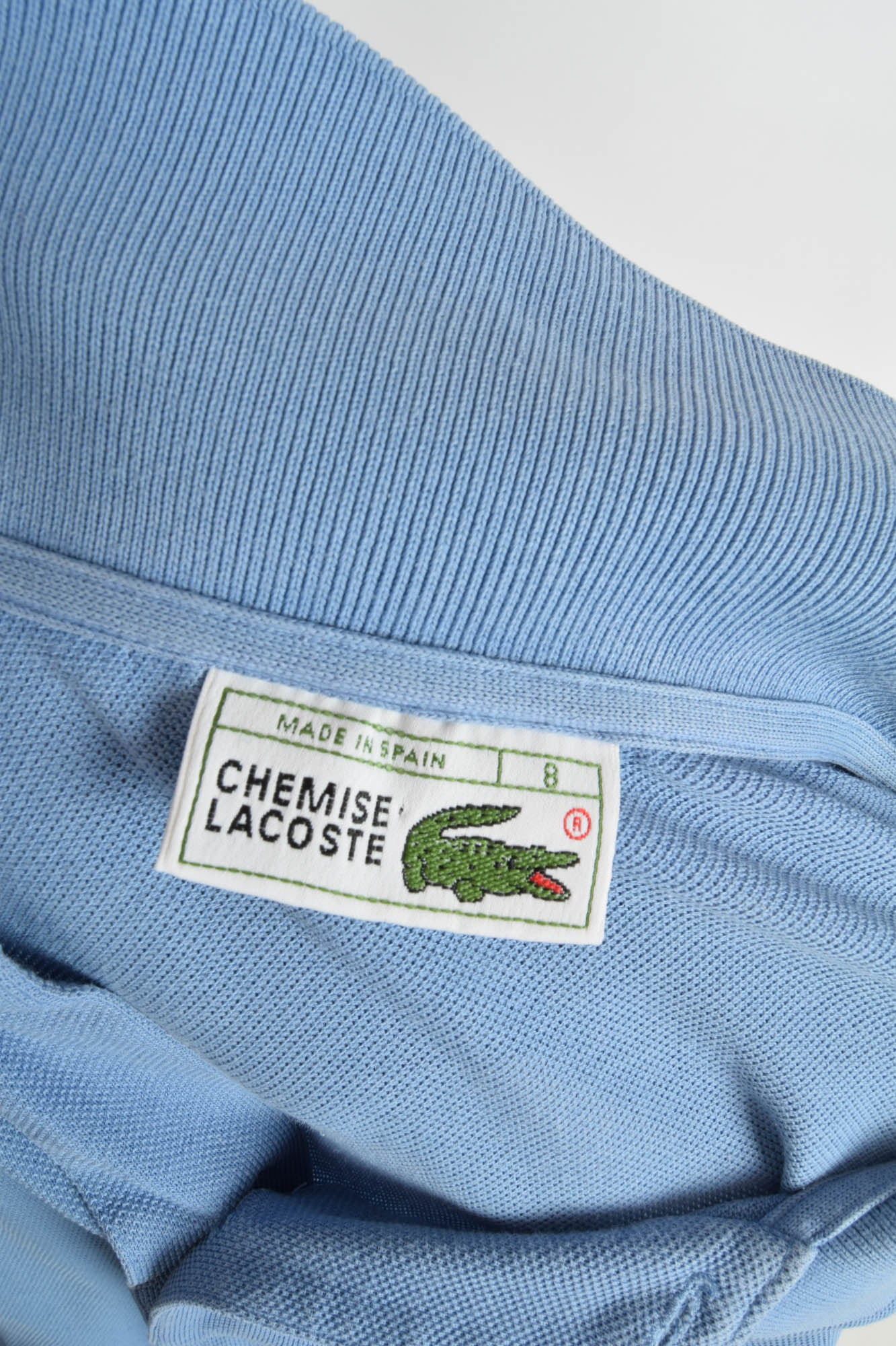 new arrivals watch how to buy Vintage Lacoste Polo T-shirt 90's Made in Spain (2640 ...