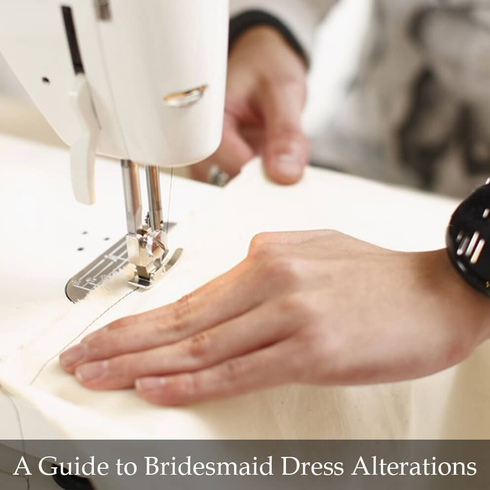 A Guide to Bridesmaid Dress Alterations