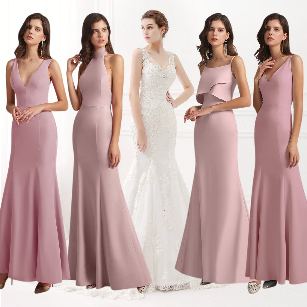 How To Create A Mix & Match Bridal Party Style