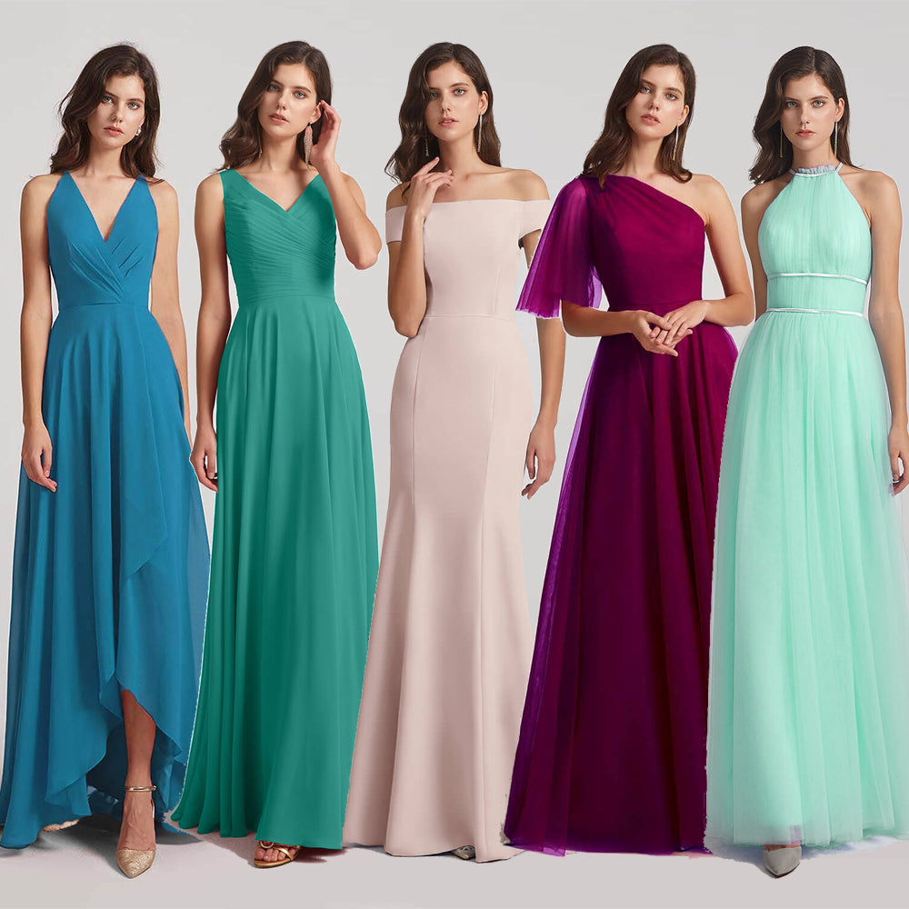 Top 5 Figure Flattering Bridesmaid Dresses Online
