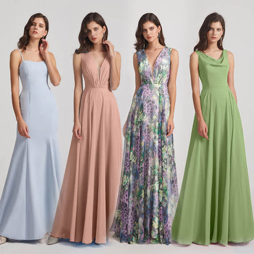 Top Bridesmaid Dresses Colors For Spring Wedding