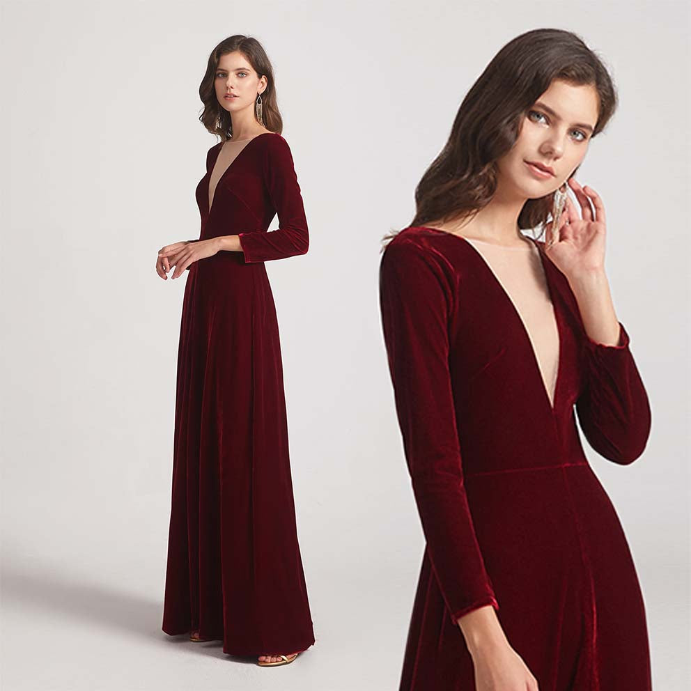 Five Bridesmaid Dresses For A Winter Wedding
