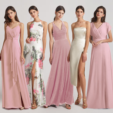 Fall Bridesmaid Dresses, Chiffon or Velvet?
