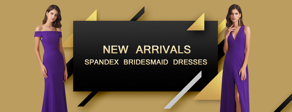 Alfa Bridal Spandex Bridesmaid Dresses