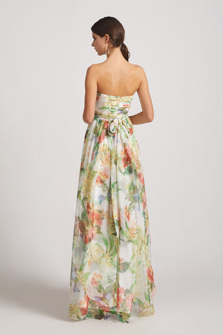 convertible mismatched floral bridesmaid dress