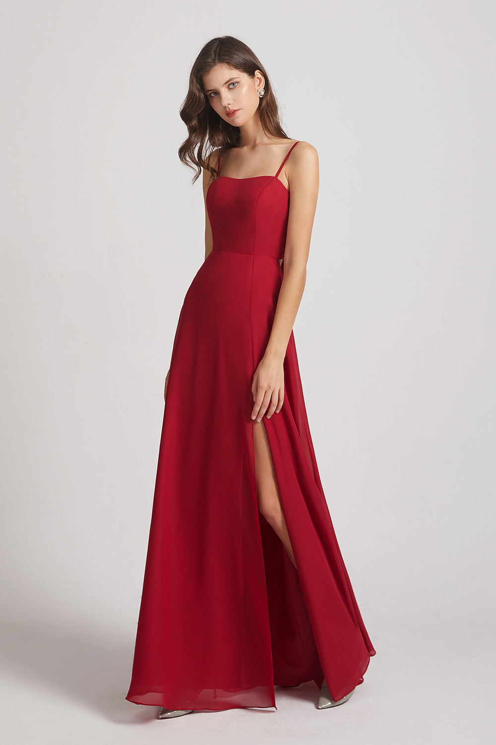 inexpensive bridesmaid gown