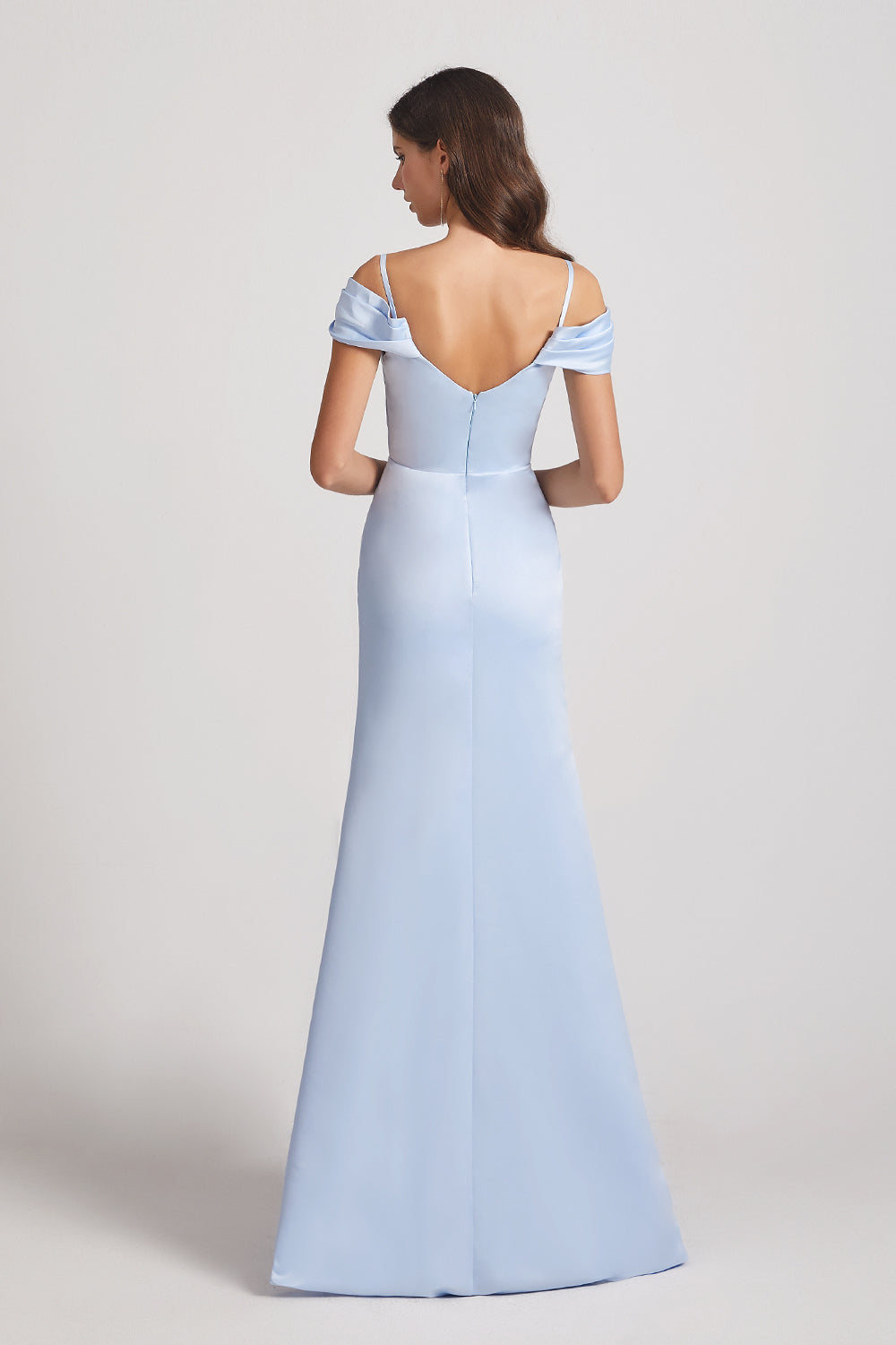 backless spaghetti straps dress