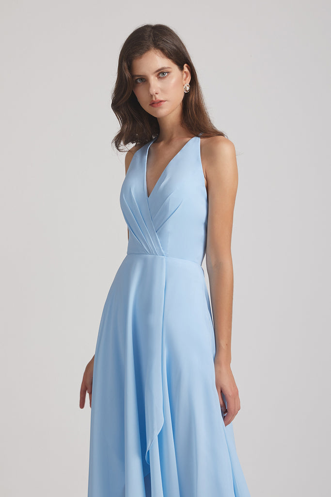 bridesmaid dress for barn wedding