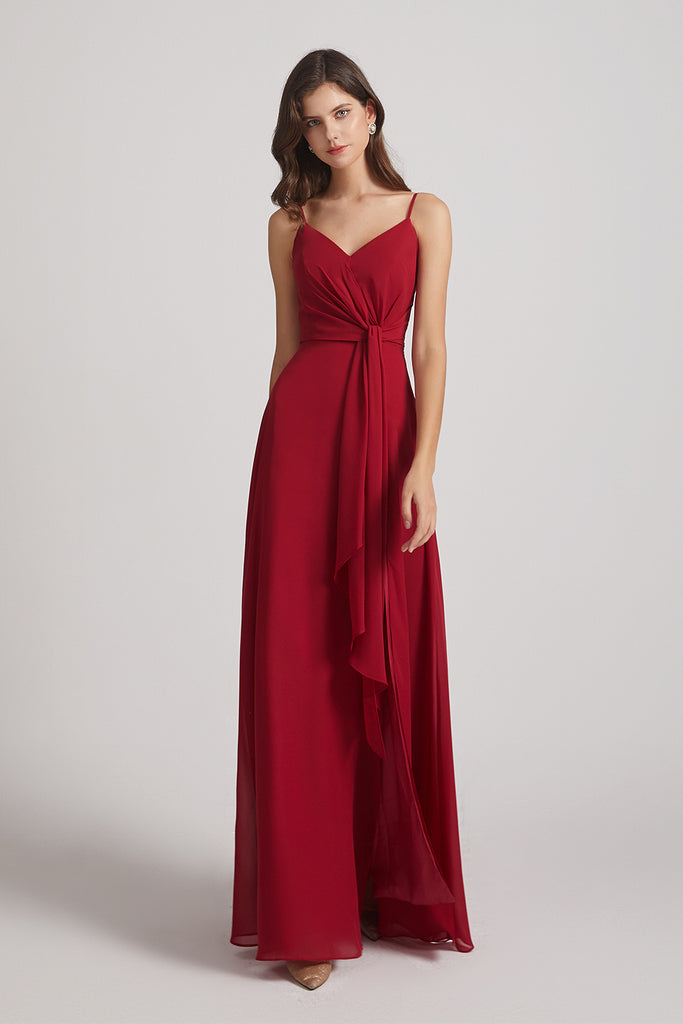 Floor Length Chiffon Bridesmaid Dresses