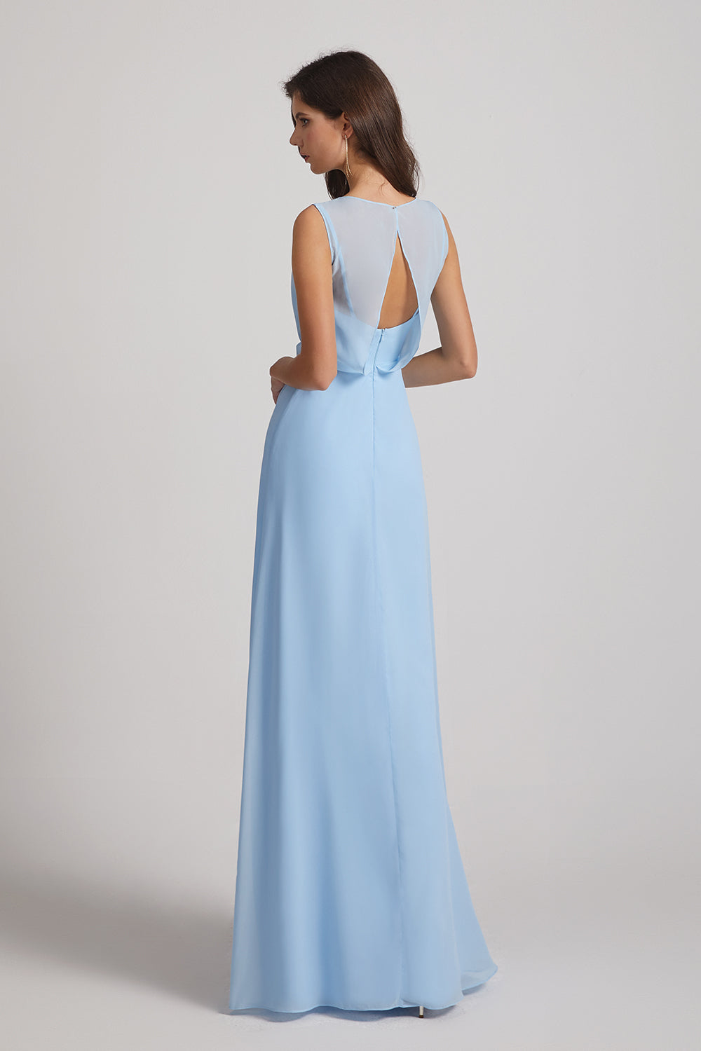keyhole back bridesmaid dresses