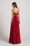 backless bridesmaid gowns