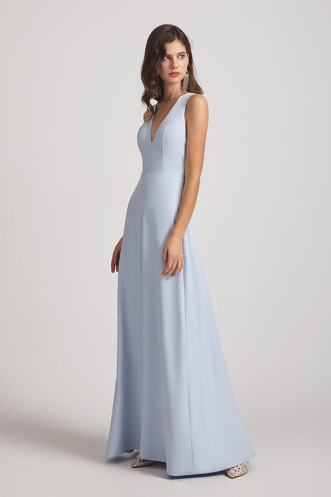 slit front bridesmaid dresses