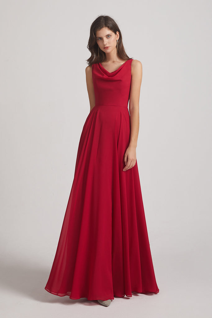 maxi bridesmaids dress