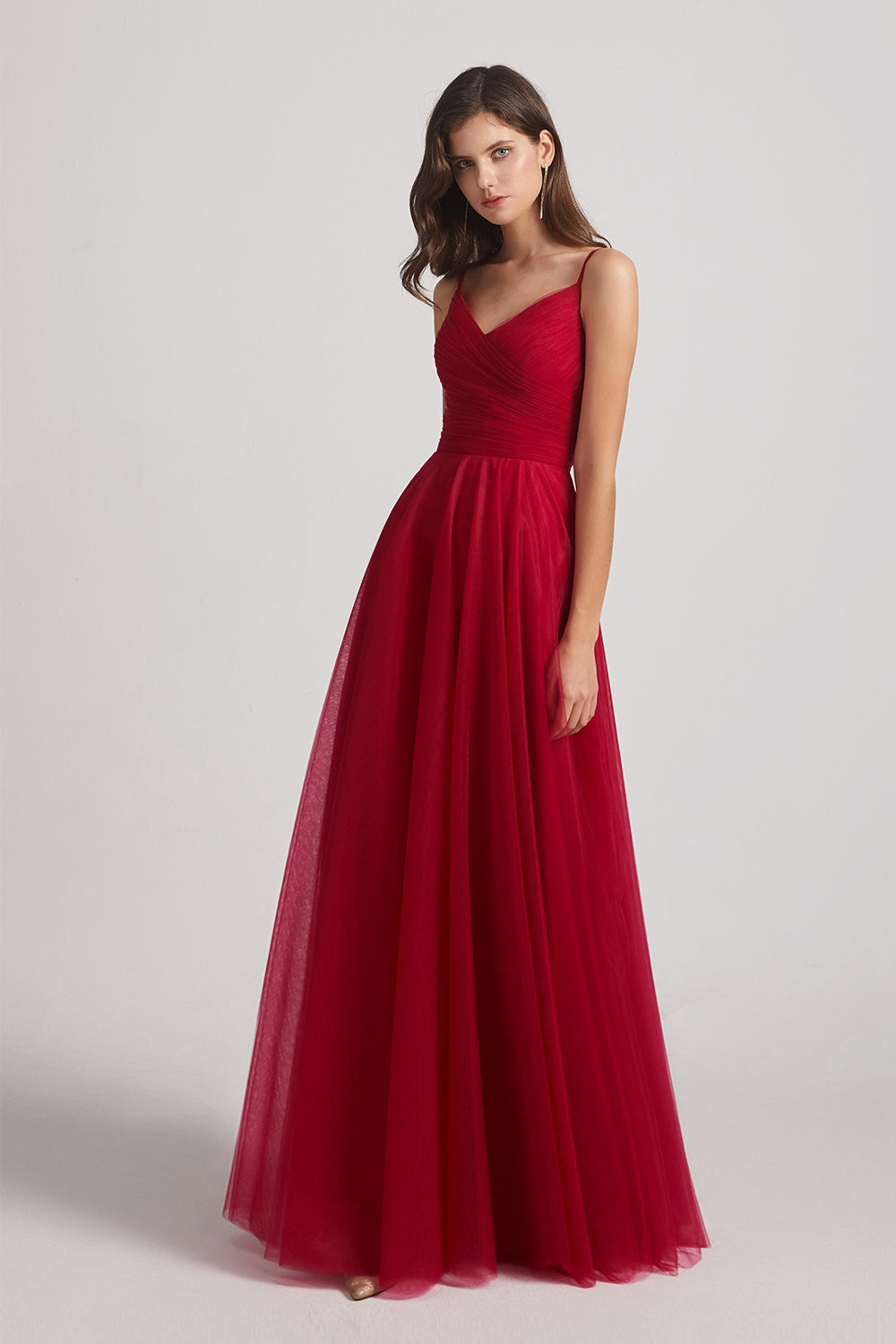 affordable tulle puffy prom dresses
