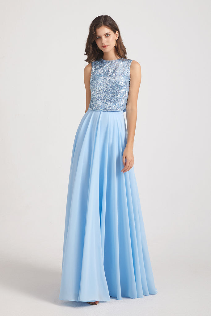 sequin maxi maids of honor dress