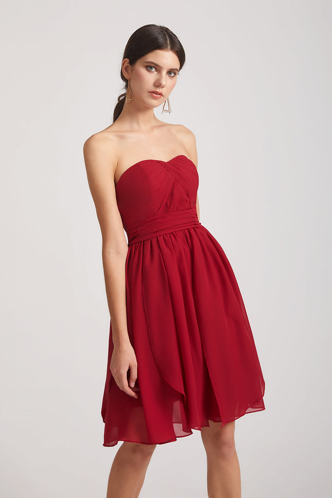 convertible short  bridesmaid dress