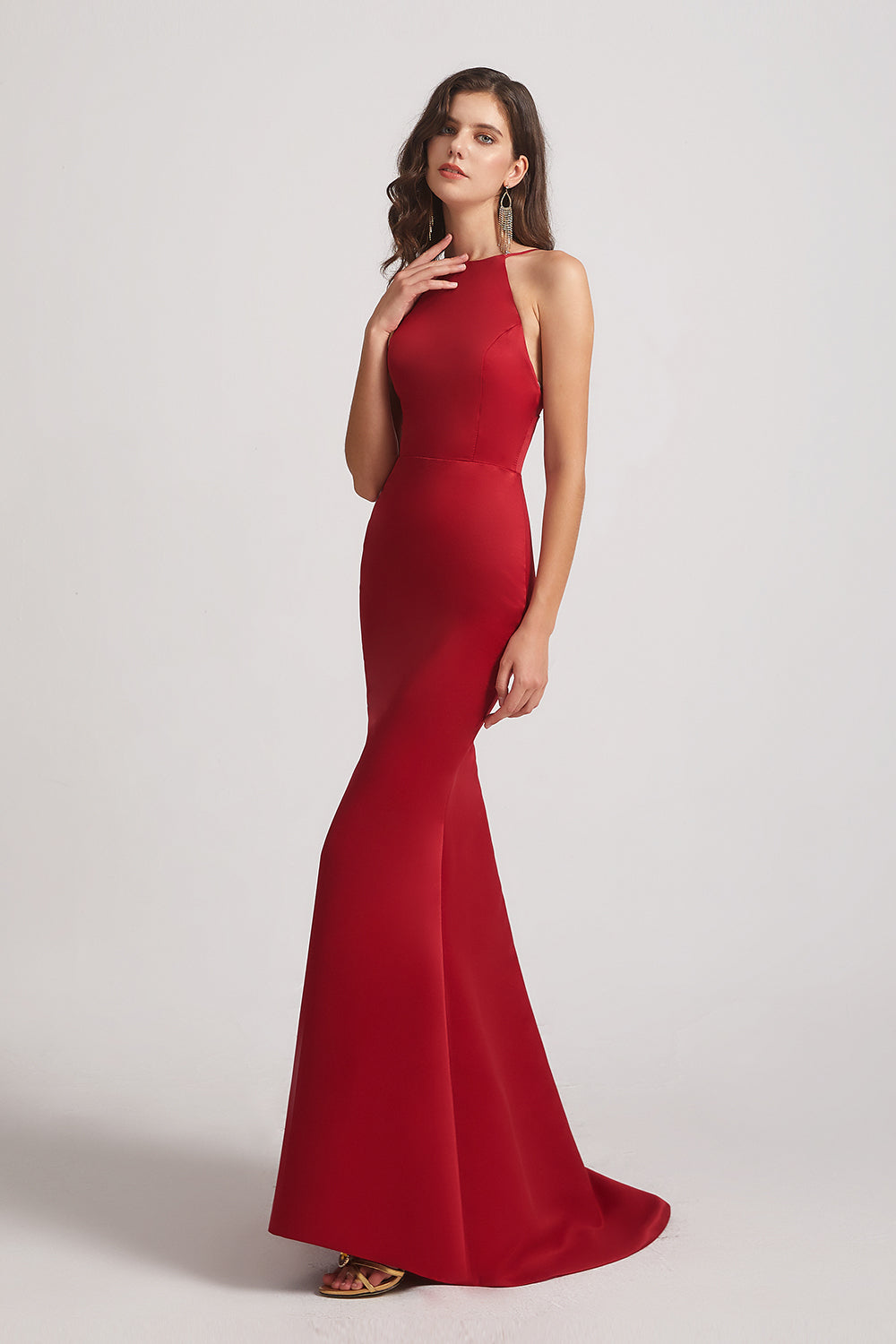 Elegant Trumpet Bridesmaid Dresses
