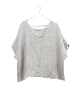 Reversible Gauze Top