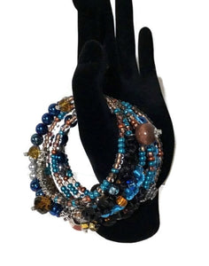 THE FIESTA AT NIGHT- WRAP BRACELET