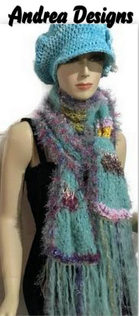 Find luxury handmade scarves, shawls, fingerless gloves, hats and handmade jewelry