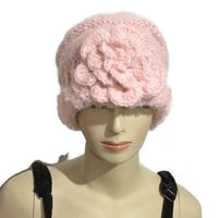 Valentines day, Hat, knit slouchy beanie, pink alpaca, faux fur, womans size, winter hat