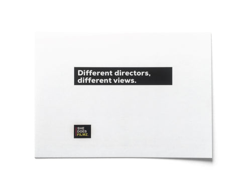 DIFFERENT DIRECTORS, DIFFERENT VIEWS Postcard Pack