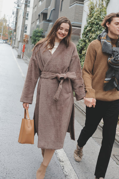 Couple Outfit Fur Coat