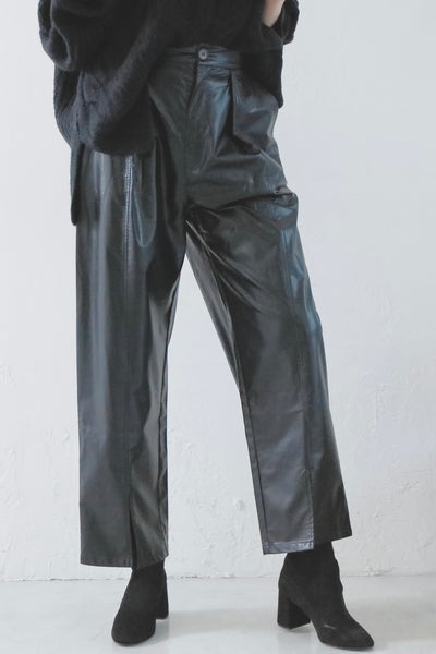 Leather Pants [Black]
