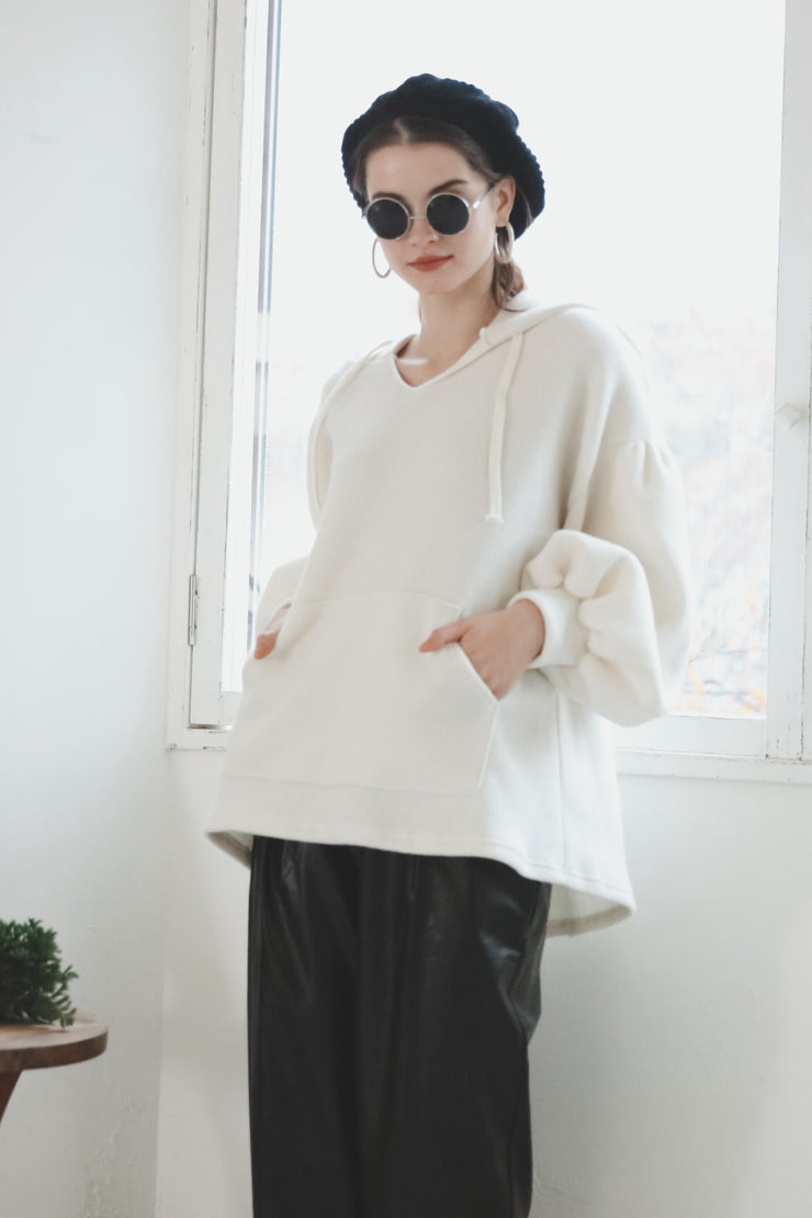 Oversize Pullover [Ivory]
