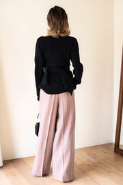 Check Wide Pants [Pink]