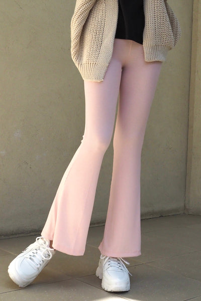 Cut-and-sew pants【ivory/pink】
