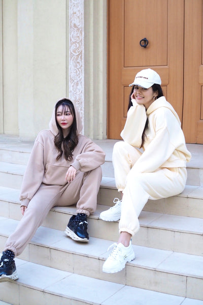 Over hoodie  + Pants SET