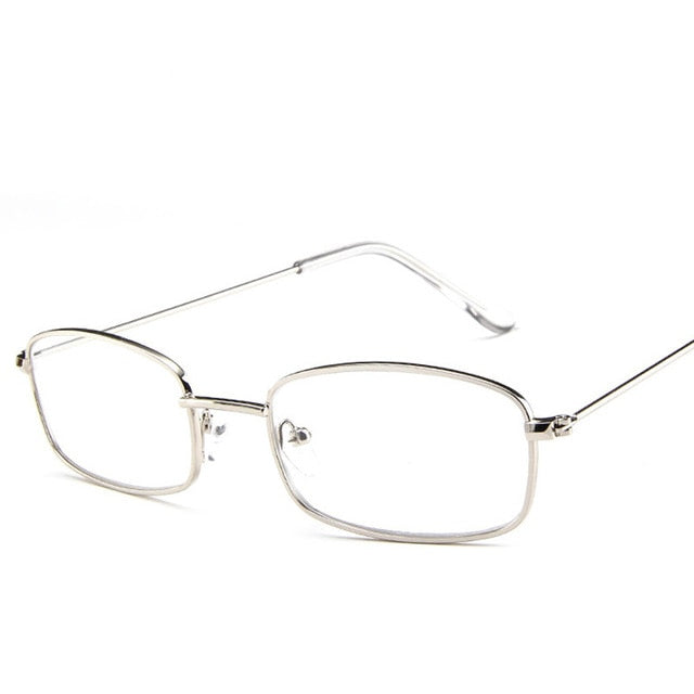 Square Sunglasses - Clear