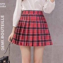Load image into Gallery viewer, School Girl High Waisted Skirt
