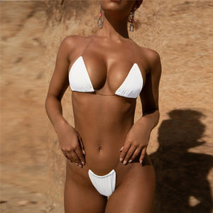 Heart Attack Bikini Transparent Straps