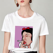 Load image into Gallery viewer, Save my self snow white tshirt