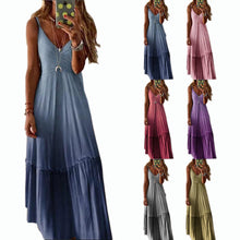 Load image into Gallery viewer, Walk in the park gradient dress